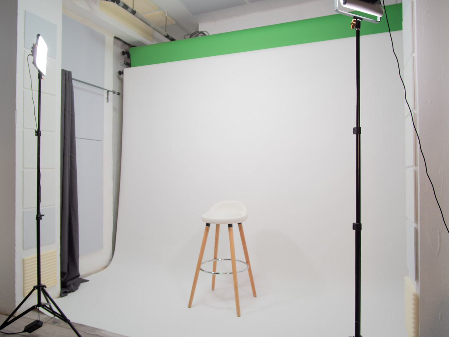 White Room White Backdrop