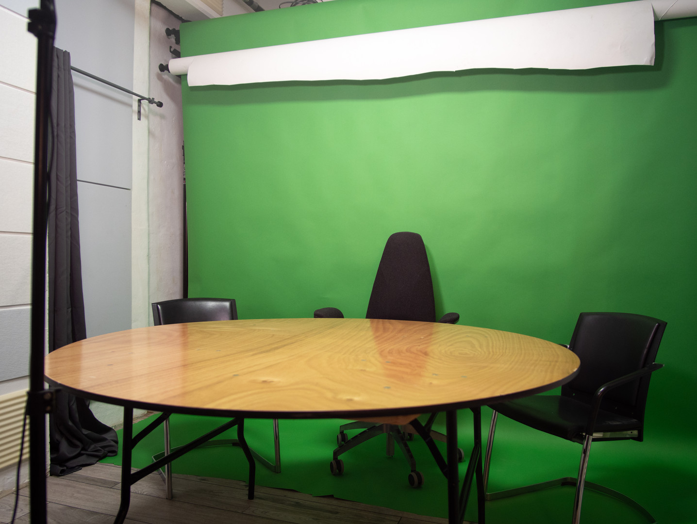 White Room Green Screen