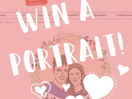 Win a portrait!