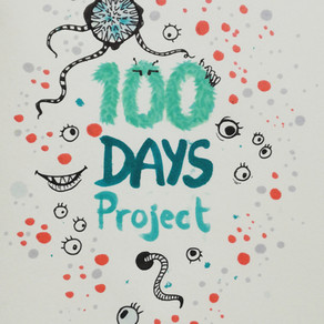 100 days project – 100days100monsters