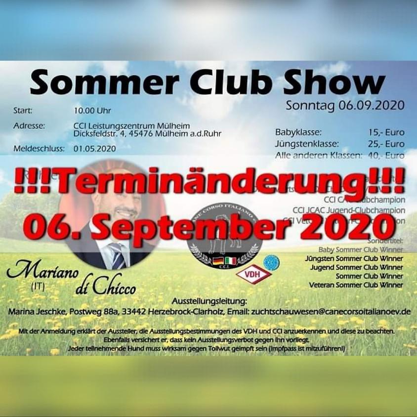 CCI e.V. Sommer Club Show