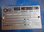 Rossi Motoziduttori Motor Reduction Drive