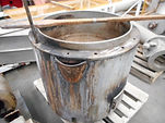 Copper Gas Cauldron