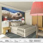 FTZ Otel junoor suit pafta kırmızı öneri