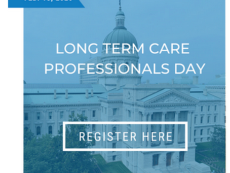 Long-Term Care Professionals Day At The Statehouse – February 18th