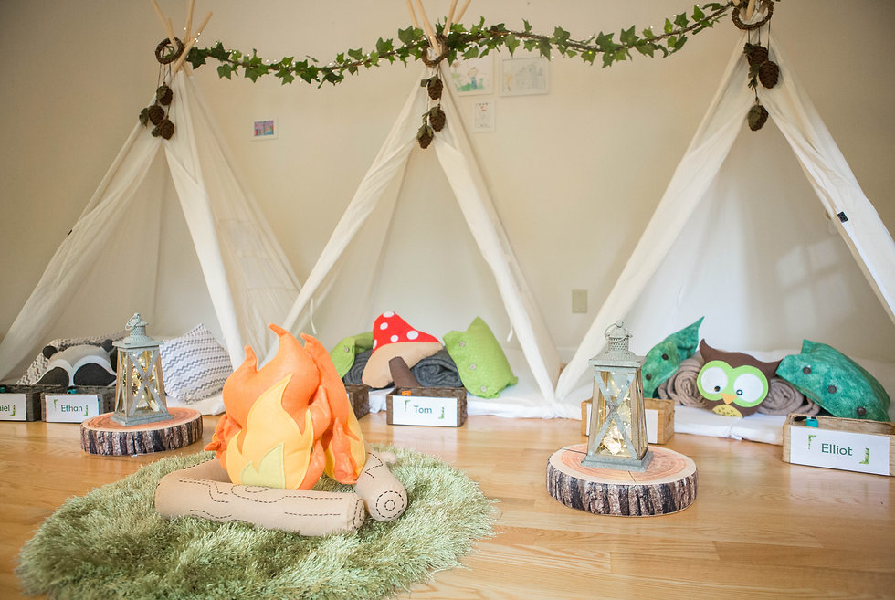 Gaby & Chic Into The Forest Sleepover Theme