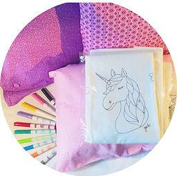 Gaby & Chic Believe Pillowcase Art Add On