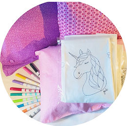 Gaby & Chic Believe Pillowcase Art Add On
