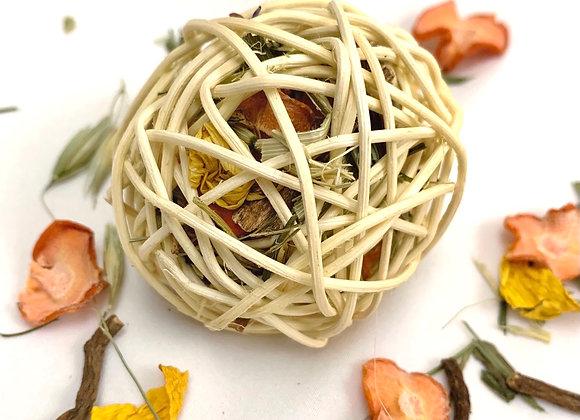 Carrot Herb Willow Ball