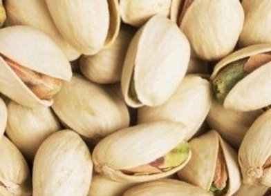 Pistachio nuts in shell