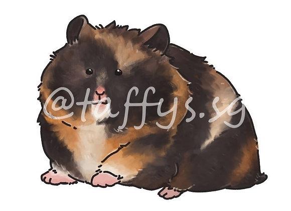 Kurumi Hamster Sticker