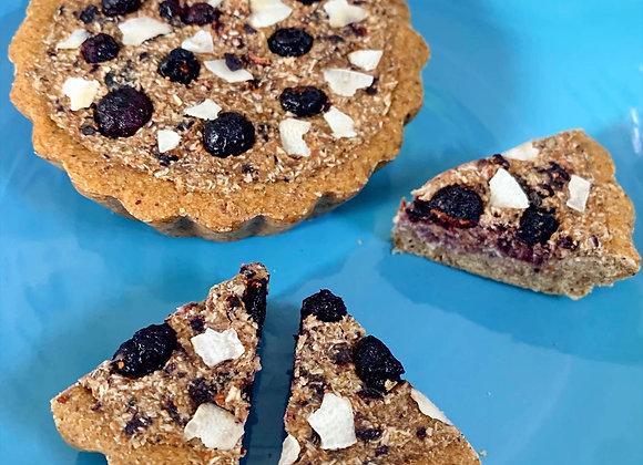 Blueberry Coconut Pie