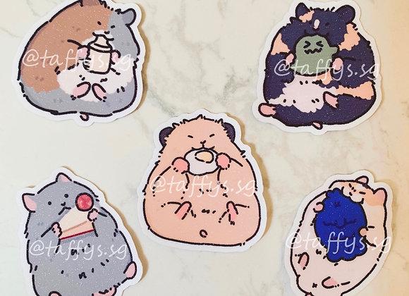 Taffy & Friends Sticker Set