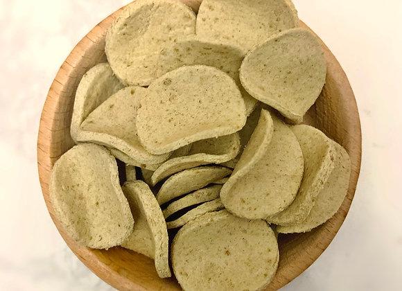 Broccoli Pea Crackers