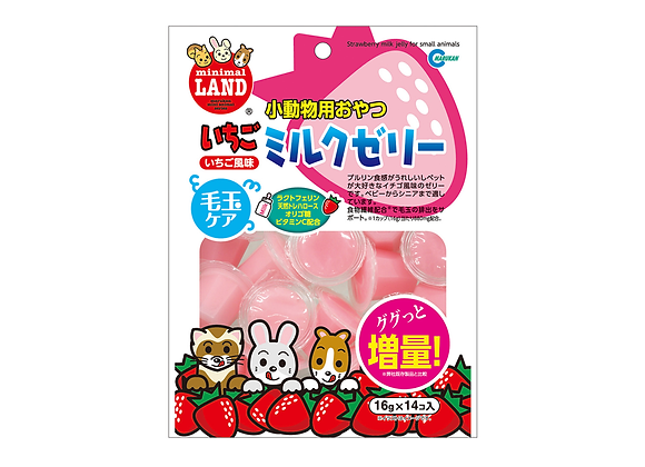 Marukan Strawberry Milk Jelly