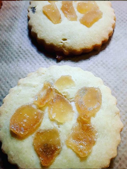Vegan Ginger Biscuits