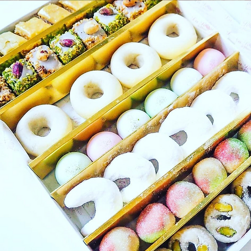 Selection of Gluten Free Moroccan Patisserie