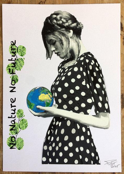 No Nature No Future - A4 - Original