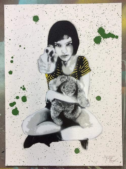 Matilda - Don't touch the plants - A3 - Original