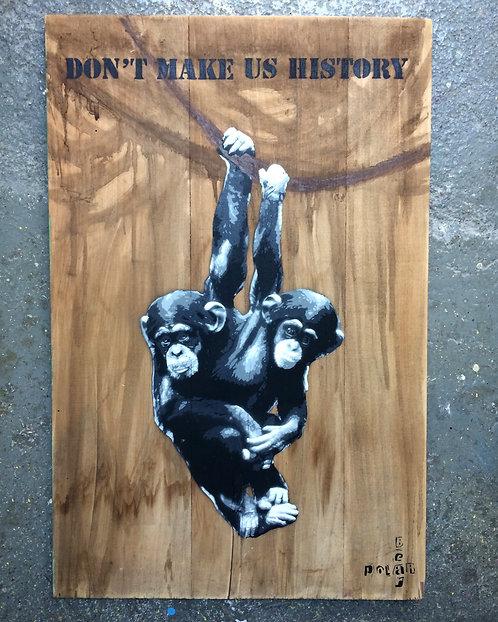 Don't make us History - Chimps