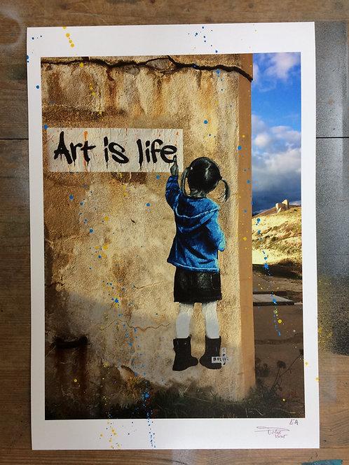 Art is life - EA Print 30x45cm