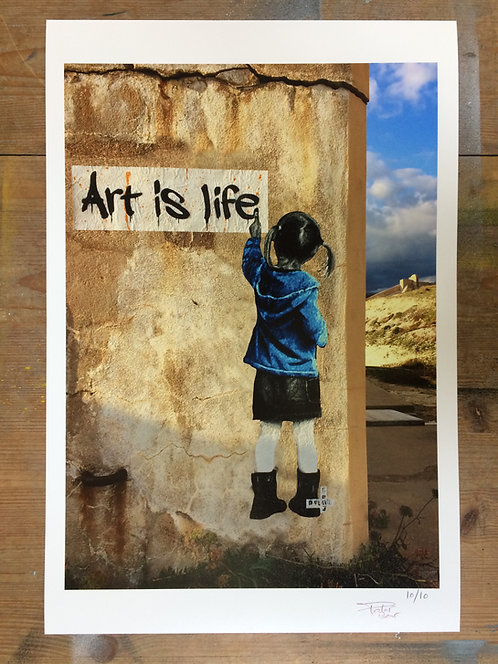 Art is life - Print 30x45cm