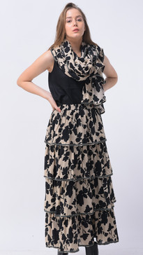 #SI-009 Top #SI-008 Skirt #SI-005 Scarf