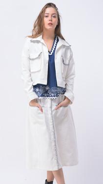 #SI-022 Jacket # SI-023 Skirt