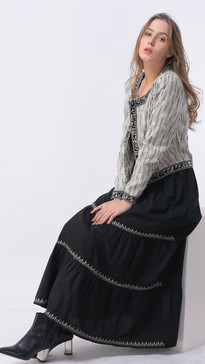 #SI-001 Jacket  #SI-002 Skirt