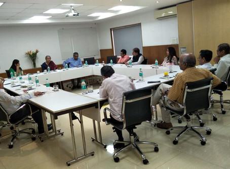 Focus Group Meeting with Dr. Indira Rajaraman