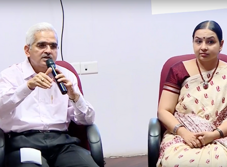 Discussing economic reform with Shaktikanta Das