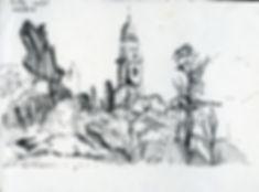 Mamila, Notebook Sketch, Pen, 2016