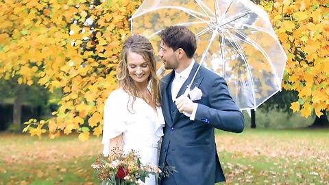 De trouwdag van Jonathan en Maria
