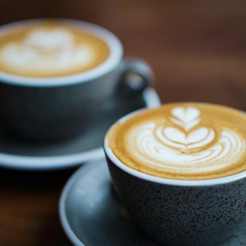 Coffee: Black or leave room for milk?