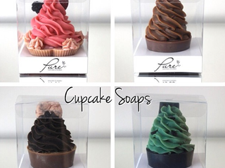 Pretty Cupcake Soap Packaging