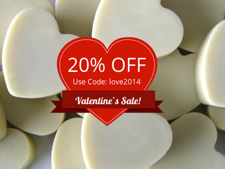 20% Off Valentines Sale!