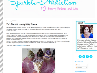 REVIEW by Blogger: Sparkle-Addiction