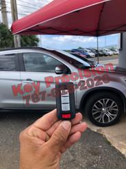 Mitsubishi Outlander del 2019. Copia de llave Smart.