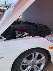 Mercedes Benz E350 del 2012. Copia de llave.