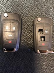 Reparación de llave para Chevrolet Sonic del 2016.