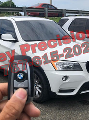 BMW X3 del 2013. Copia de llave Smart.