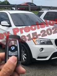 BMW X3 del 2013. Copia de llave Smart.