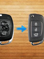 Reparación de llave para Hyundai Santa Fe del 2016.