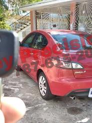 Mazda 3 del 2010 sin llave. Servicio a domicilio en La Parguera, Lajas.