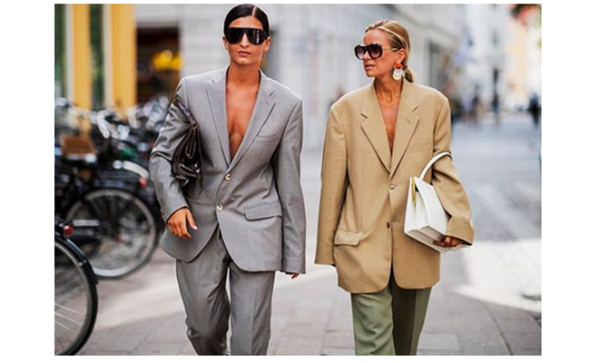 How to wear oversize