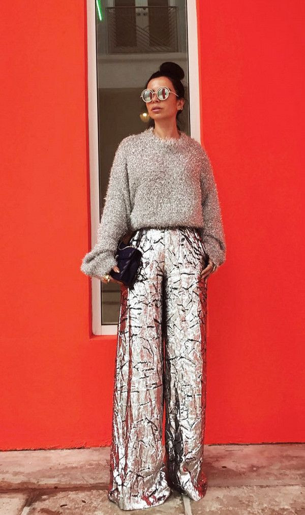 Glitter pants