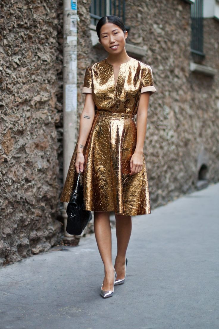 Glitter total look