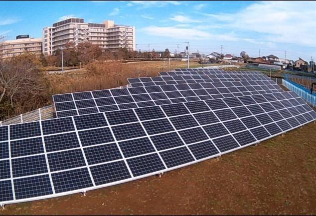 鎌ヶ谷市太陽光発電設備
