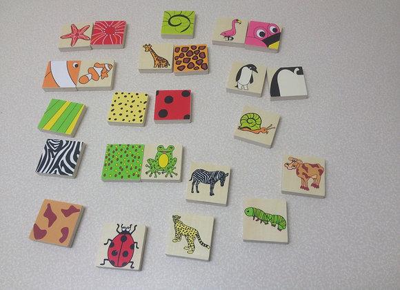 Matching Animal Blocks