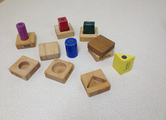 Matching Shape Blocks